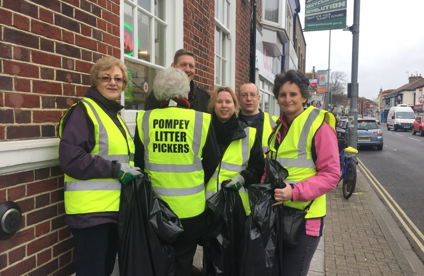 Pompey Litter Pickers