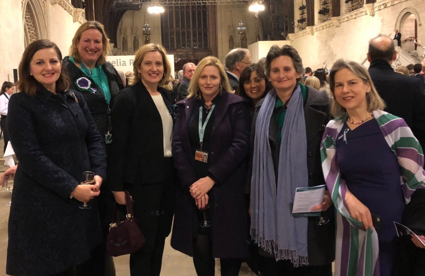 Amber Rudd joins Flick and other MPs at Vote 100